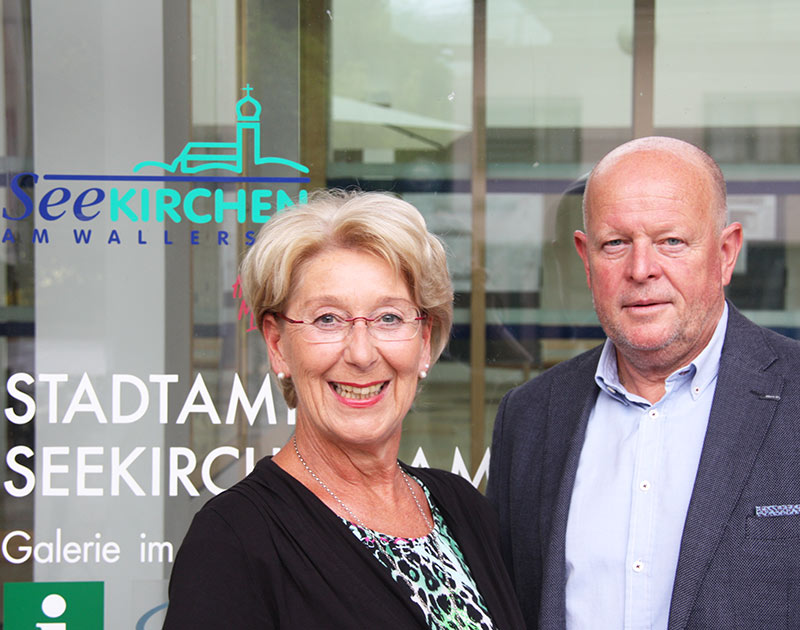 Monika Schwaiger kandidiert nicht mehr in Seekirchen - designierter Nachfolger ist Jakob Pieringer