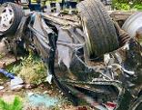 Autounfall Zeillern sechs Jugendliche