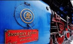 modrý vagón prezidentského speciálu