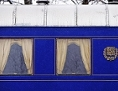 modrý vagón prezddientského speciálu