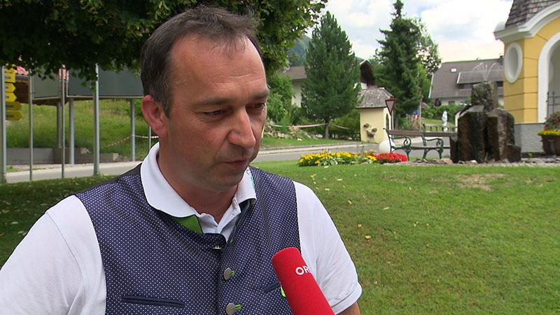 Bürgermeister Wahlen  Berg Drautal Kandidaten Wolfgang Krenn ÖVP