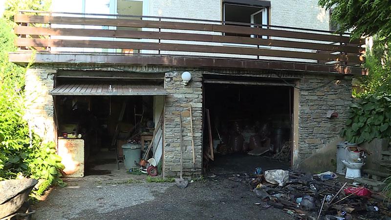 Brand Sattendorf Einfamilienhaus