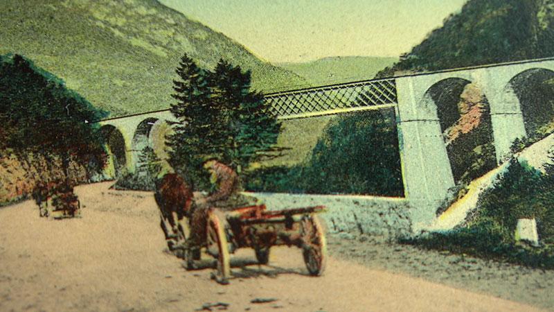 Pontebbana Postkarte Ponte di Muro