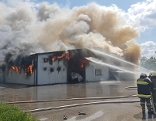 Großbrand Hühnerzucht Schwarzau am Steinfeld