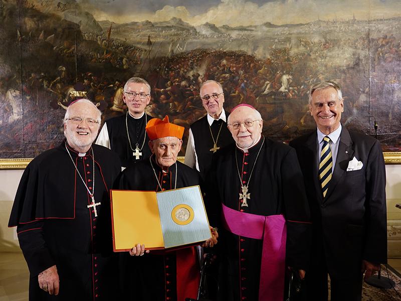 Thomas Morus Preis an Ernest Kardinal Simoni Heiligenkreuz