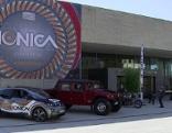 Autos beim Elektromobilitätskongress Ionica im Ferry Porsche Kongresszentrum Zell am See