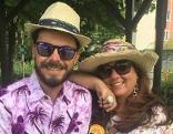 Ilona Toppler und Daniel Math