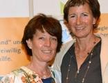 Adriane Feurstein und Gabriele Nußbaumer