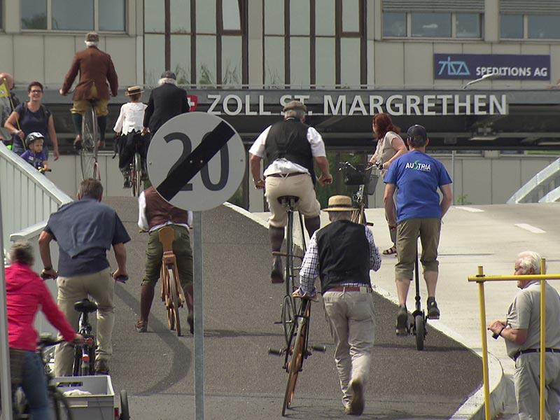 Radwegverbindung Höchst St. Margrethen