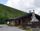 Die Rettenegghütte auf der Postalm
