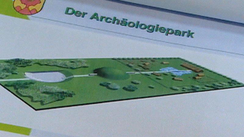 Hügelgräber in Schandorf