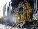 Gleisstopfmaschine der ÖBB