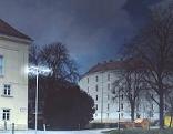 Lichtinstallation von Lukas Maria Kaufmann