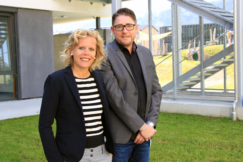 Erstautor Martin Fuchs und Klinikdirektorin Kathrin Sevecke von der Univ.-Klinik für Kinder- und Jugendpsychiatrie