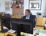 Werner Zechmeister bei seiner offiziellen Amtseinführung