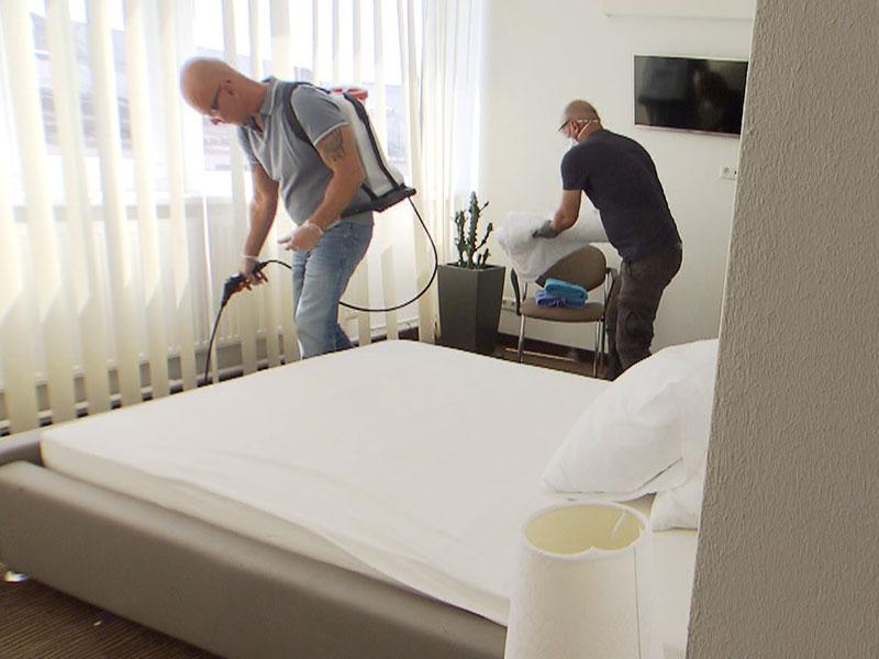 Bettwanzen-Schädlingsbekämpfung