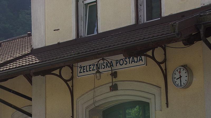 Bahnhof Bleiburg Züge Radtourismus Slowenien