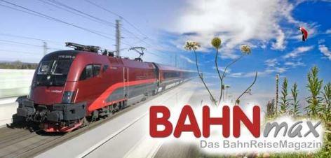 Reisemagazin Bahnmax
