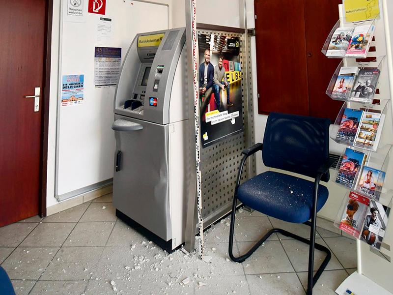 Versuchter Bankomatdiebstahl Deutsch Jahrndorf