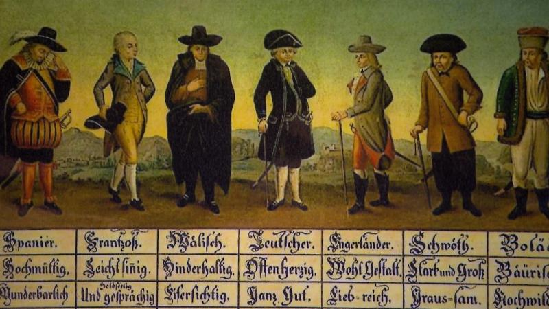 Plakat des Forschungsprojektes Historegio