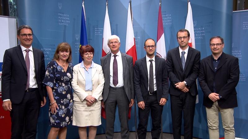 Teilnehmer der Vorstellung des Euregio-Forschungsprojektes Historegio