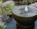 Brunnen im Garten