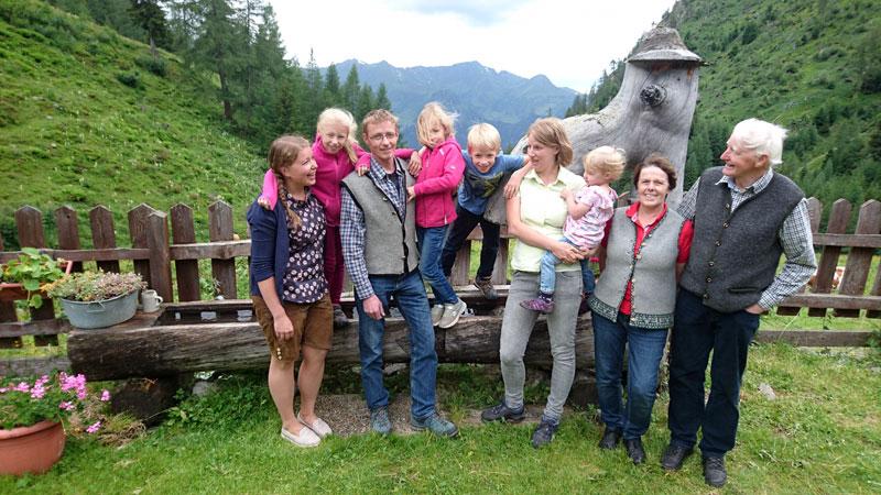 Familie Röck vom Grußberggut