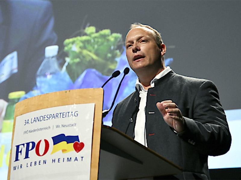 FPÖ Landesparteitag Christian Höbarth
