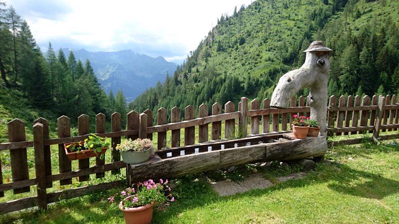 Aussicht von der Grußberghütte