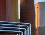 Industrieanlagen der Papierfabrik Wattens
