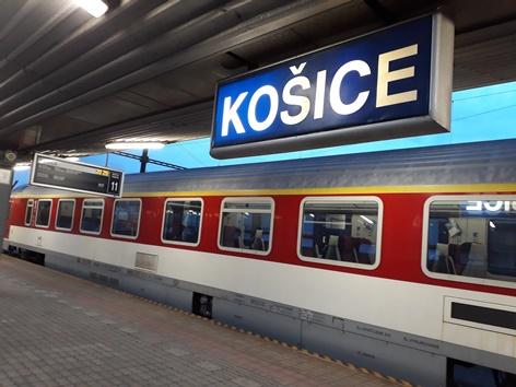 Direkte Bahnverbindung Kosice-Wien