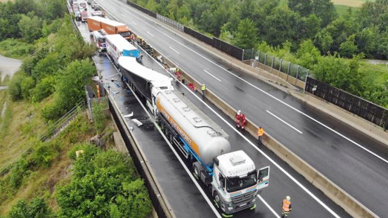 Tödlicher Lkw-Unfall auf der A9 Pyhrnautobahn