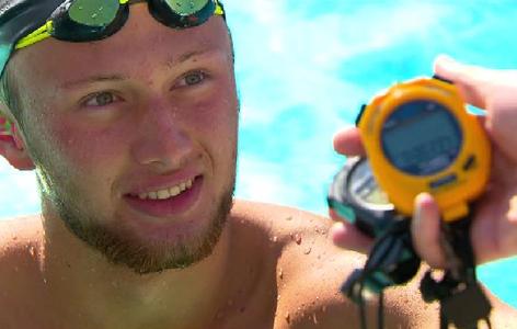 Schwimmer simon Bucher