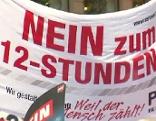 Protestaktion in Wien