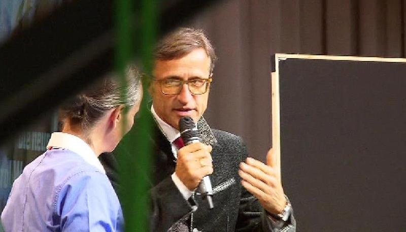 Josef Margreiter beim Tourismusforum