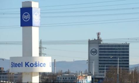 Stahlwerk U.S. Steel in Kosice