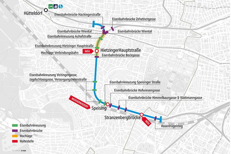 Grafik Verbindungbahn Hietzing