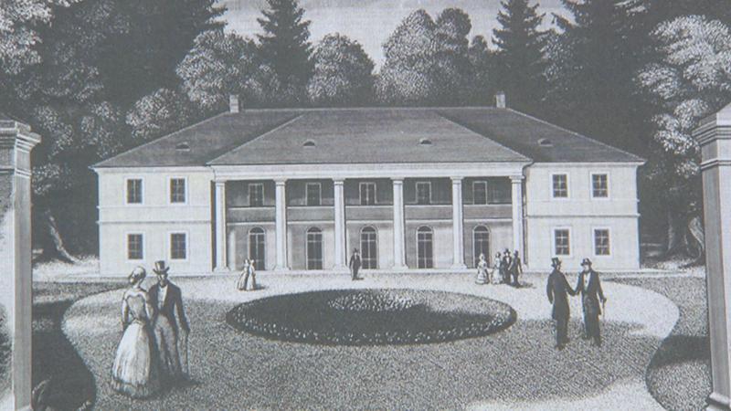 Kastell Sulz vor 200 Jahre