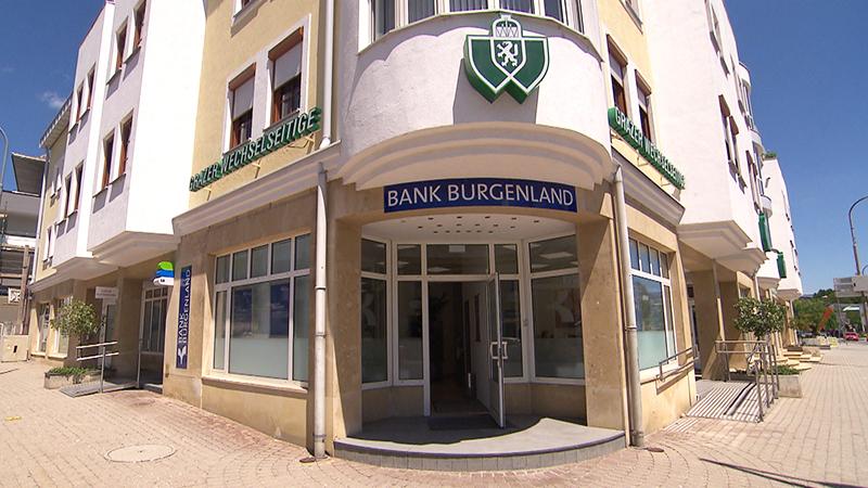 Ausweichquartier der Bank Burgenland im GraWe-Gebäude