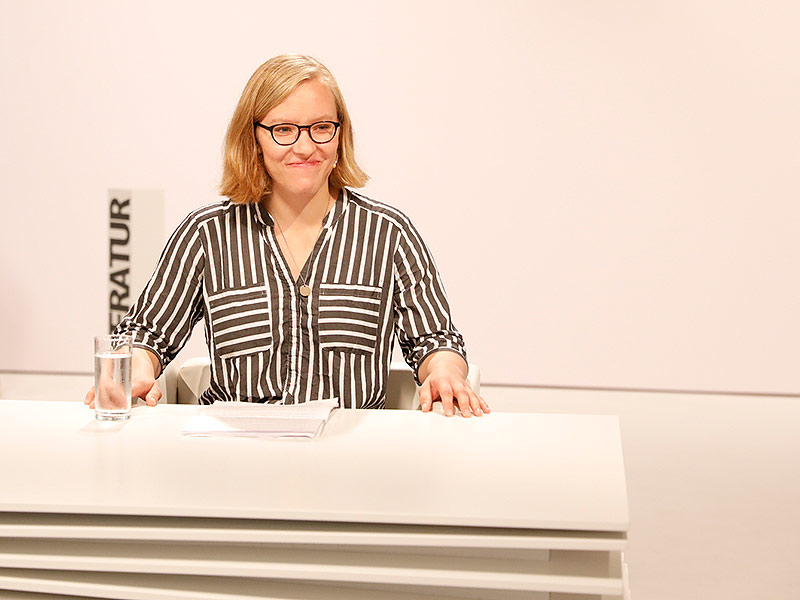 TddL 2018 Tag 1 Raphaela Edelbauer Lesung