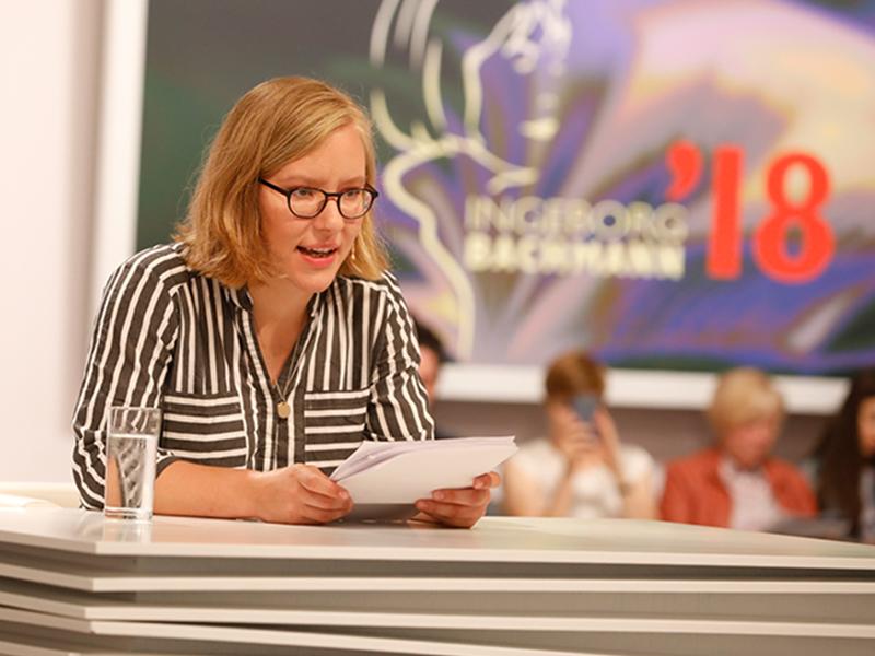 TddL 2019 Tag 2 Raphaela Edelbauer Lesung