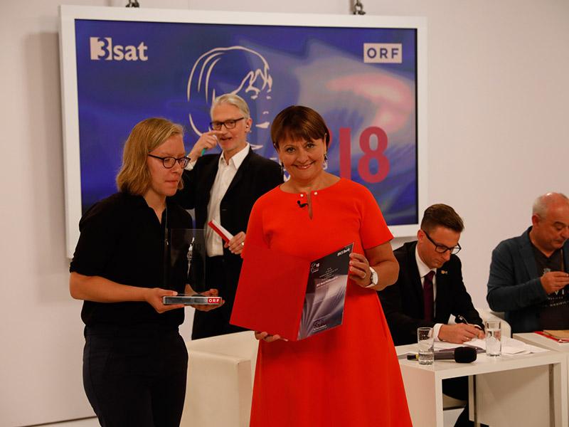 Preisverleihung 2018 Edelbauer Stockbauer
