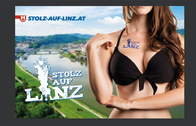 Linz FPÖ Sommerkampagne