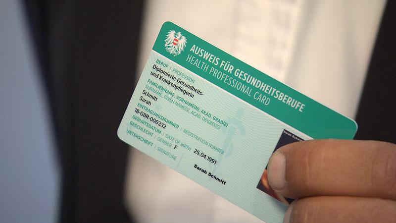 Registrierung Gesundheitsberufe