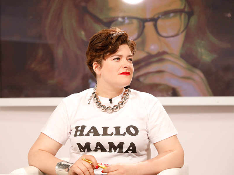 Jury Lesung Edelbauer Nora Gomringer