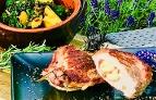 Grillzeit 28 Juni Schweinekarree Spinatgemüse