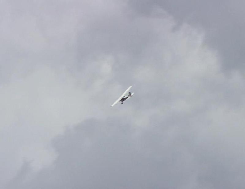 Hagelflieger der Hagelabwehr Steiermark