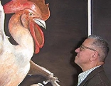 Hühnermaler Heinz Strahl