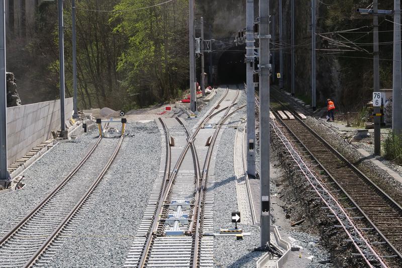 Gleise bei Innsbruck-Süd