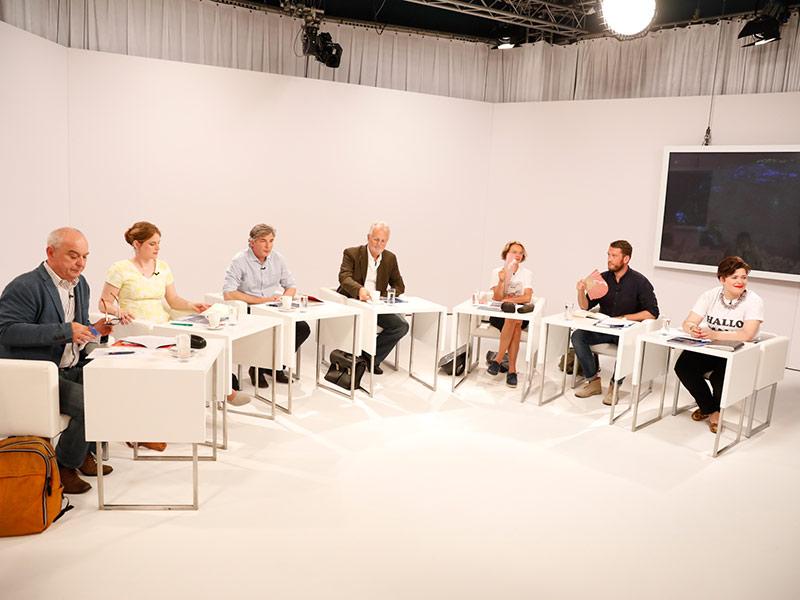 Jury Lesung Edelbauer